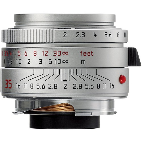 Leica 35mm F2 Summicron-M ASPH. - Silver (11882)
