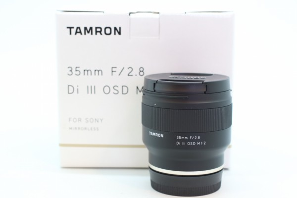 [USED-PUDU] Tamron 35mm F2.8 Di III OSD (Sony E-Mount) 99%LIKE NEW CONDITION SN:001607