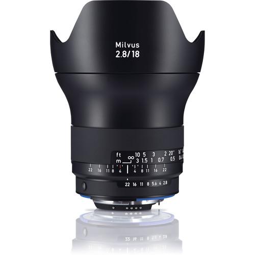 ZEISS Milvus 18mm F2.8 ZE Lens for Canon EF