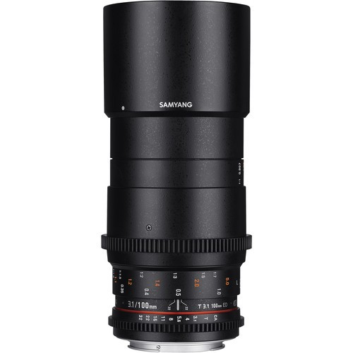 Samyang 100mm T3.1 VDSLRII Cine Lens for Micro Four Thirds Mount