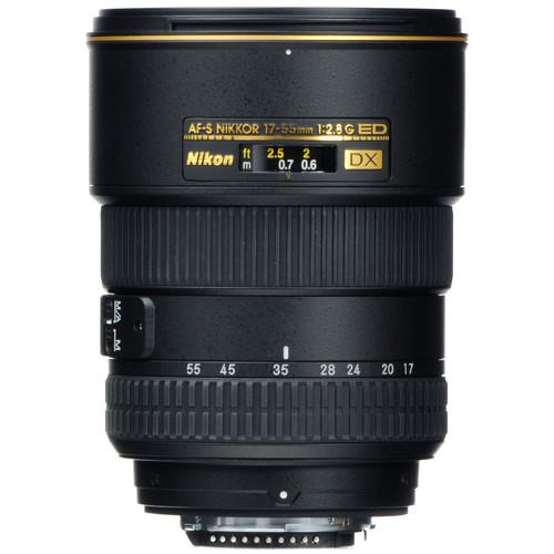 Nikon DX 17-55mm F2.8G AF-S