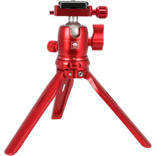 Sirui 3T-15R Tabletop Tripod with B-00 Ball Head (Red)