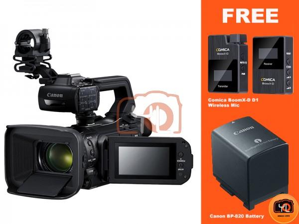 Canon DM-XA55 UHD 4K30 Camcorder with Dual-Pixel Autofocus