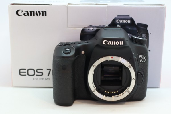 [USED-PUDU] CANON EOS 70D CAMERA 95%LIKE NEW CONDITION SN:198057007627
