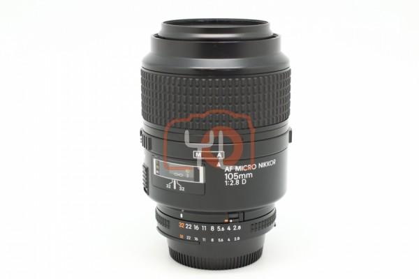 [USED-PUDU] Nikon 105mm F2.8 AFD Macro 95%LIKE NEW CONDITION SN:3341129