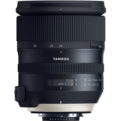 (Promotion) Tamron SP 24-70mm f/2.8 Di VC USD G2 Lens (Canon EF)