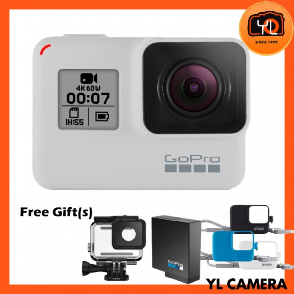(Promotion) GoPro HERO7 Black - Limited Edition Dusk White
