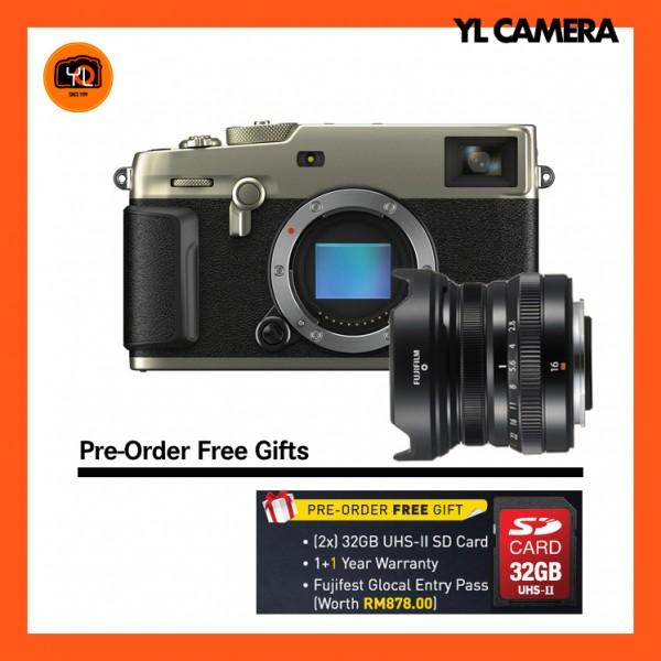 (Pre-Order) Fujifilm X-Pro 3 + XF 16mm F2.8 R WR (Dura Silver)