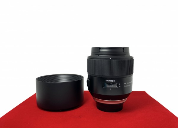 [USED-PJ33] Tamron 85MM F1.8 SP DI VC USD (Nikon), 90% Like New Condition (S/N:000367)