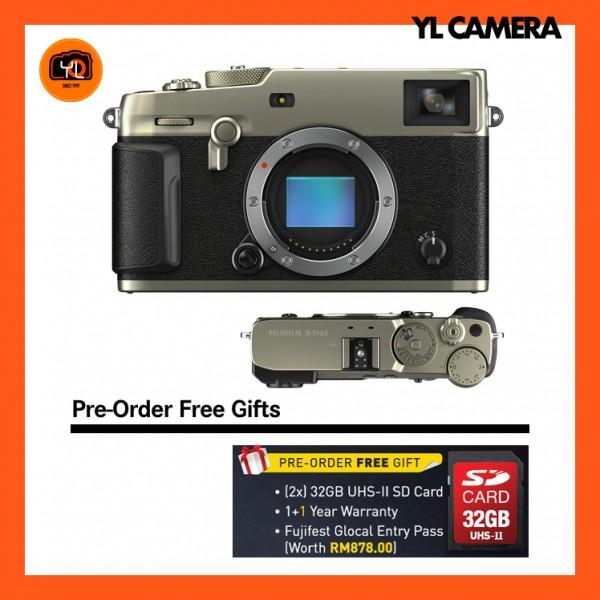 (Pre-Order) Fujifilm X-Pro 3 (Dura Silver)