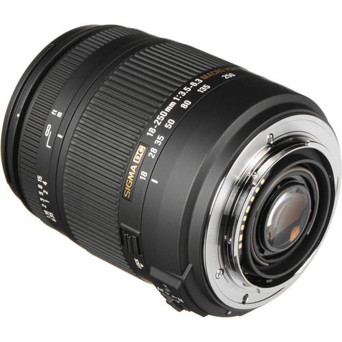 Sigma 18-250mm F3.5-6.3 DC Macro OS HSM (Sony)