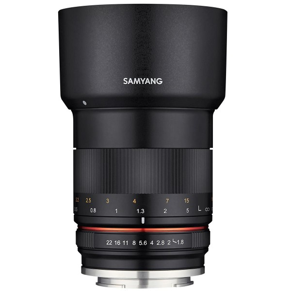 Samyang 85mm F1.8 Lens for Canon M
