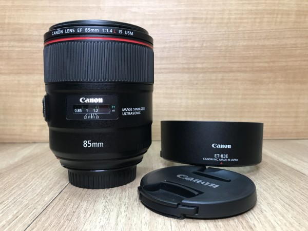 (USED YL LOW YAT)-Canon EF 85mm F1.4 L IS USM Lens,99% Condition Like New,S/N:6700000161