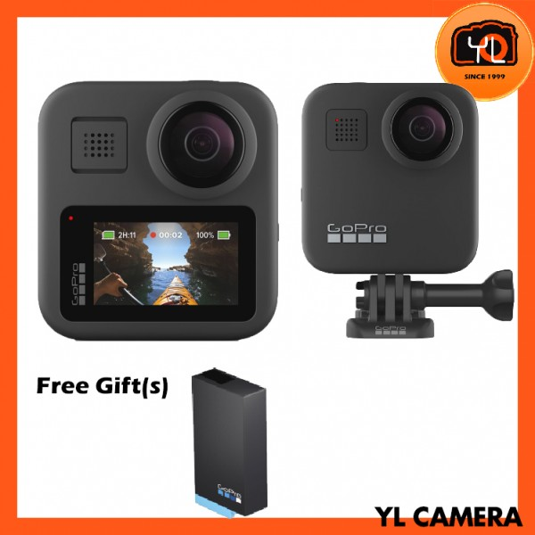 (Promotion) GoPro MAX 360 Action Camera [Free Extra Battery]