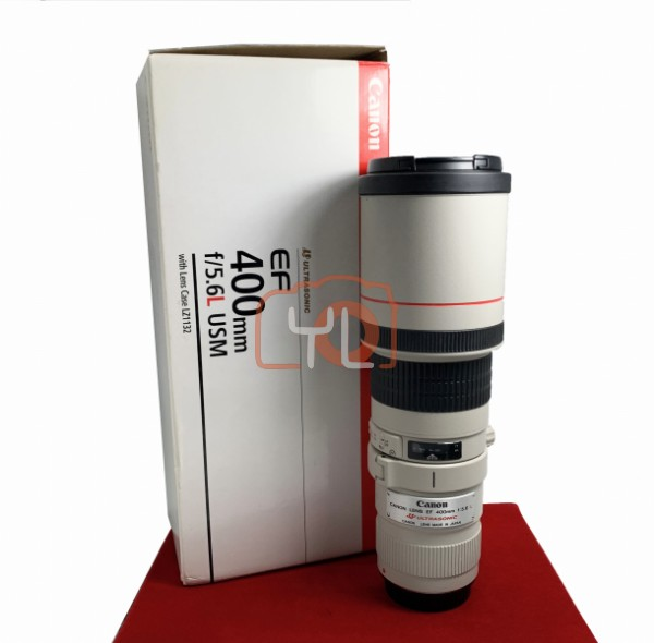 [USED-PJ33] Canon 400MM F5.6 L USM EF, 95% Like New Condition (S/N:124528)