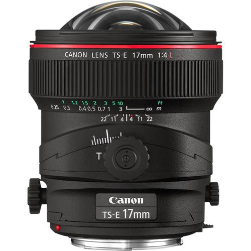Canon TS-E 17mm F4 L Tilt-Shift