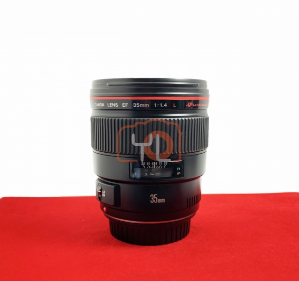 [USED-PJ33] Canon 35mm F1.4 EF L USM, 95% Like New Condition (S/N:34713)