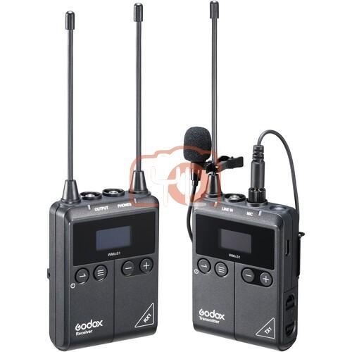 GODOX WMic S1 UHF Wireless Microphone System Kit 1 - TX1 + RX1