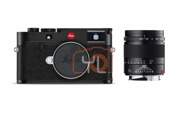 [YEAR END PROMOTION] Leica M10 Digital Rangefinder Camera + Leica 75mm f/2.5 Summarit-M (11645)