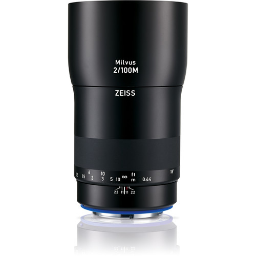 ZEISS Milvus 100mm f/2M ZF.2 Macro Lens for Nikon F