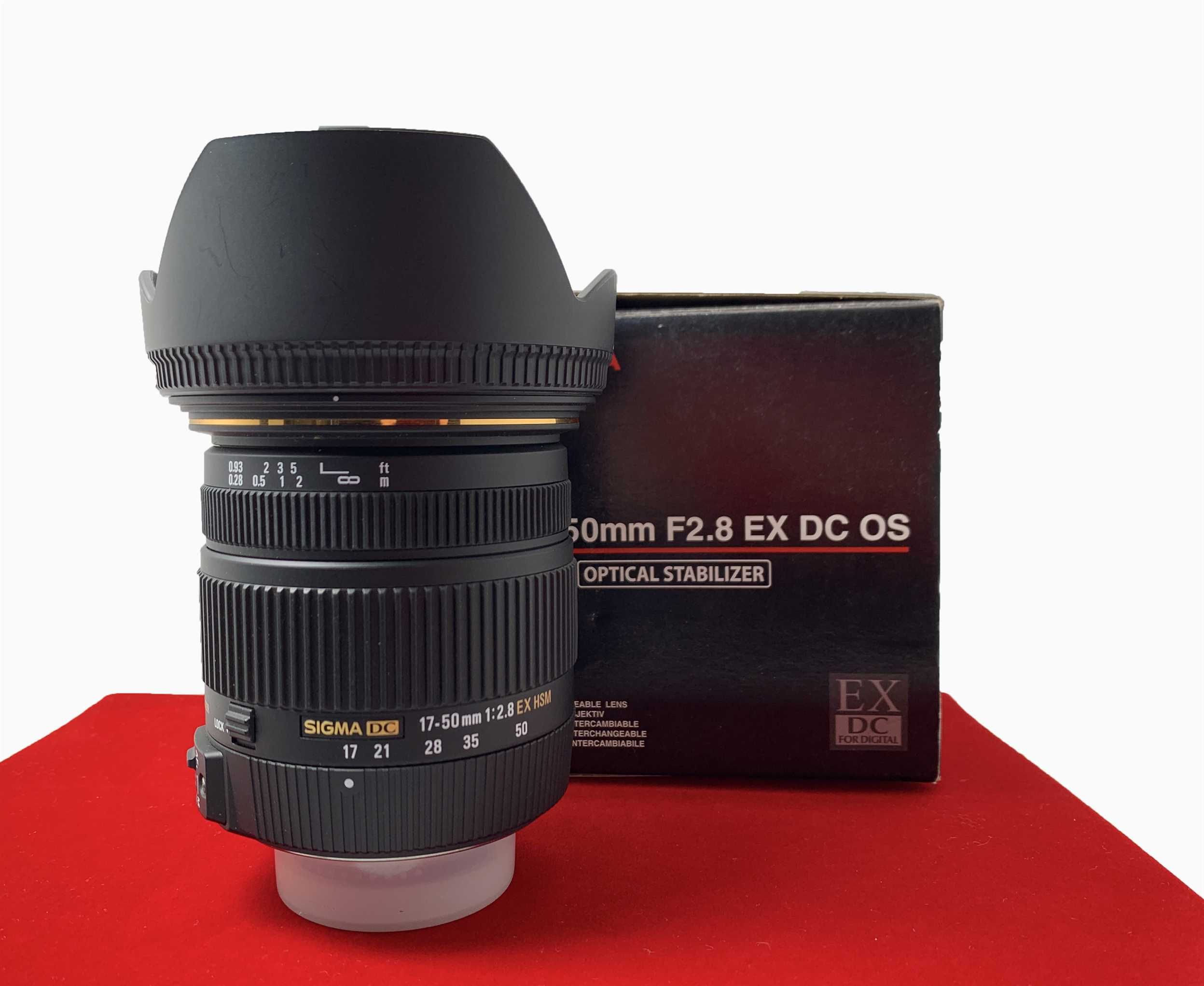 [USED-PJ33] Sigma 17-50MM F2.8 EX DC OS HSM For Nikon, 95% Like New Condition (S/N:14598455)