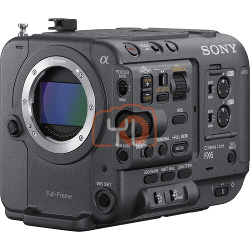 Sony FX6 Full-Frame Cinema Camera (Body Only) ILME-FX6V