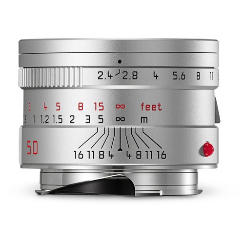 Leica 50mm F2.4 Summarit-M - Silver (11681)