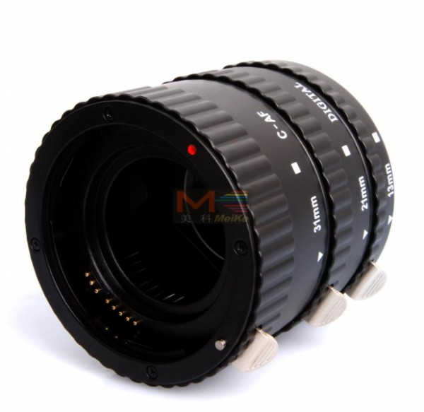 Meike 3-Piece Extension Tube AF Macro (For Canon EF)