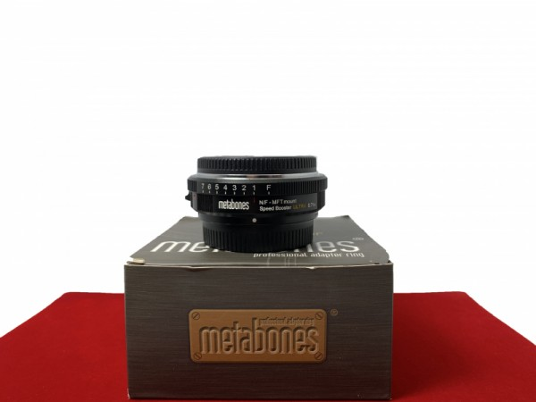 [USED-PJ33] Metabones Nikon G To M4/3 Ultra 0.71X Speed Booster, 95% Like New Condition (S/N:22A012132006)