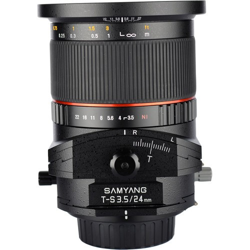 Samyang 24mm F3.5 ED AS UMC Tilt-Shift Lens for Olympus Four-Thirds