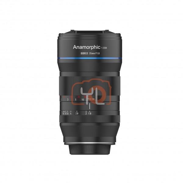 Sirui 35mm F1.8 1.33x Anamorphic (Canon EF-M) [Deliver October 2020]