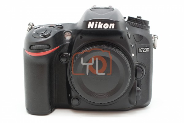 [USED-PUDU] Nikon D7200 BODY 88%LIKE NEW CONDITION SN:6100780