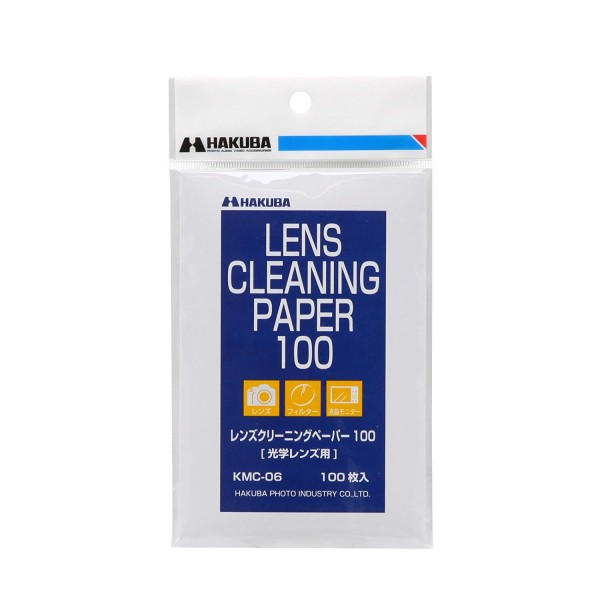 Hakuba Lens Cleaning Tissue 100 Sheets