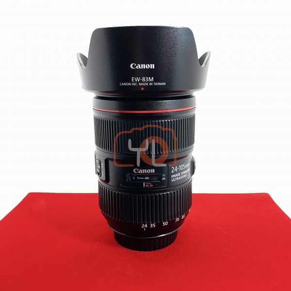 [USED-PJ33] Canon 24-105mm F4 EF L IS II USM, 85% Like New Condition (S/N:4703001472)
