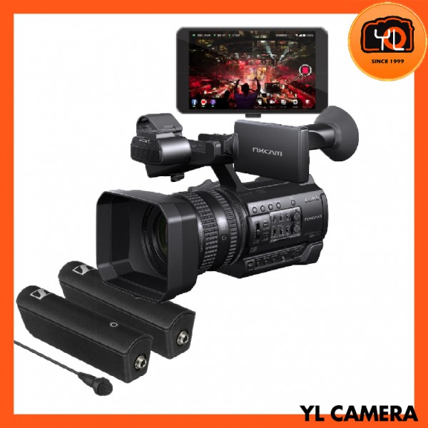Sony HXR-NX100 Full HD NXCAM Camcorder - Streaming Kit