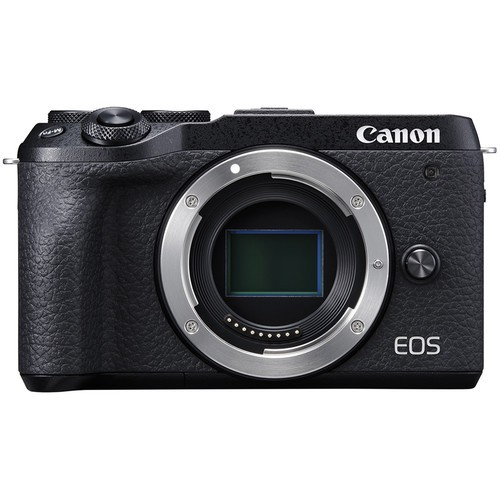 Canon EOS M6 Mark II - Body Only (Black) [Free 32GB SD Card + Camera Bag]