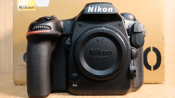 (USED-LOWYAT)NIKON D500 CAMERA BODY,95% LIKE NEW,S/N:8504356
