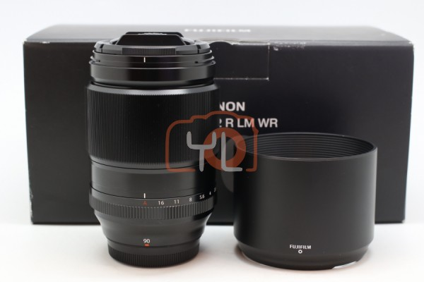 [USED-PUDU] Fujifilm 90mm F2 LM WR XF 95%LIKE NEW CONDITION SN:36A03412