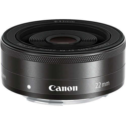 Canon EF-M 22mm F2 STM (Black)