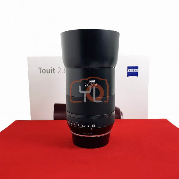 [USED-PJ33] Zeiss 50MM F2.8 Touit Macro Lens (Fujifilm X-Mount), 95% Like New Condition (S/N:51083171)