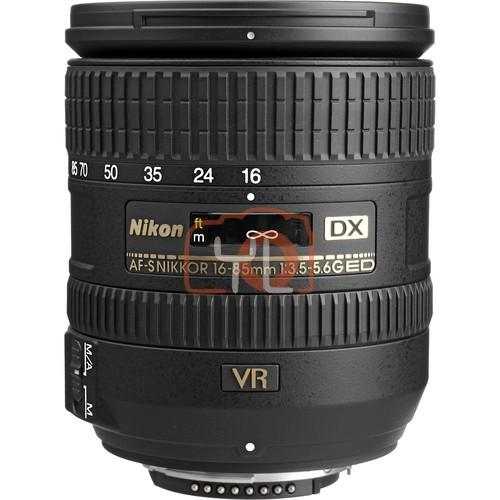 [WHITE BOX]Nikon DX 16-85mm F3.5-5.6G AF-S VR