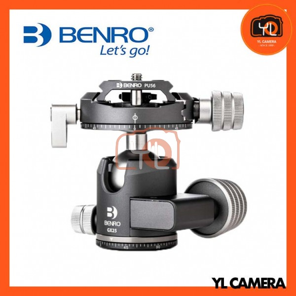 Benro GX25 Two Series Arca-Swiss Style Low Profile Aluminum Ballhead