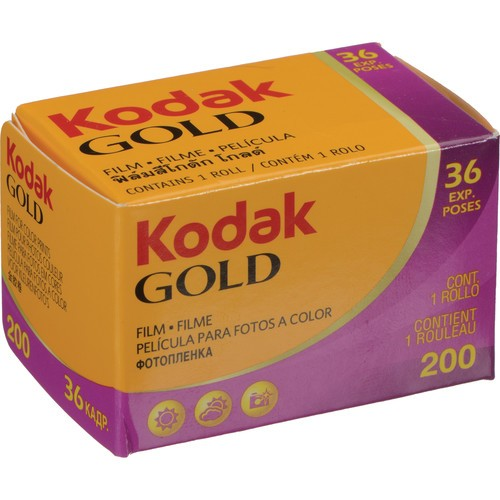 Kodak GOLD 200 Color Negative Film (35mm Roll Film)