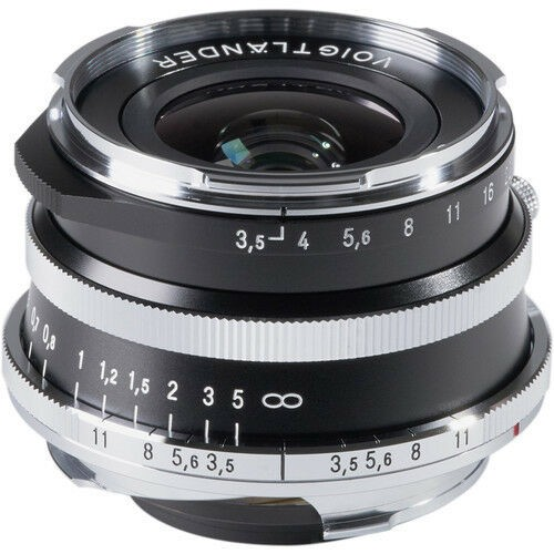 Voigtlander 21mm F3.5 Color-Skopar Aspherical VM Lens - Silver (For Leica M-Mount)