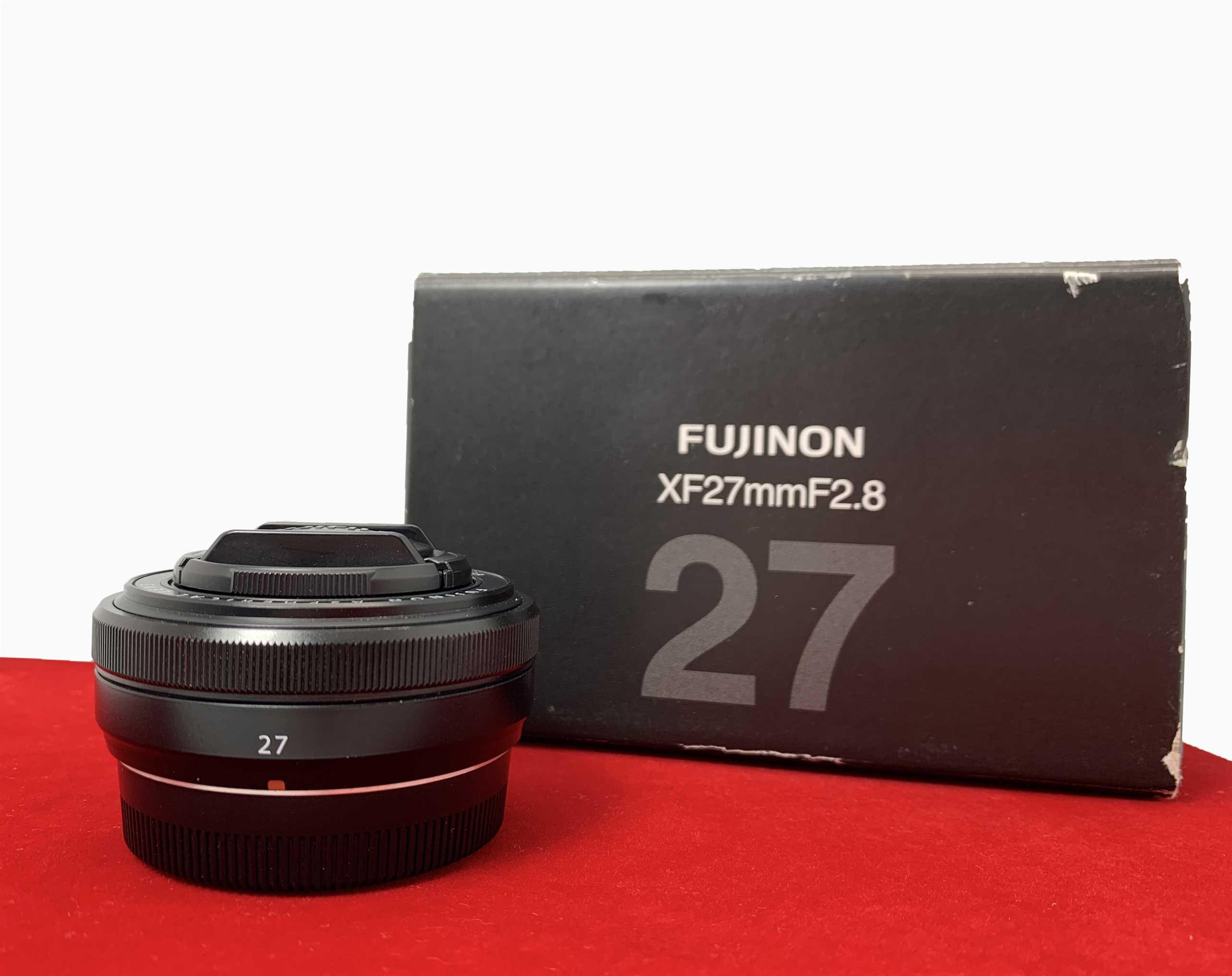 [USED-PJ33] Fujifilm 27MM F2.8 XF Lens, 90% Like New Condition (SN 33A25434)
