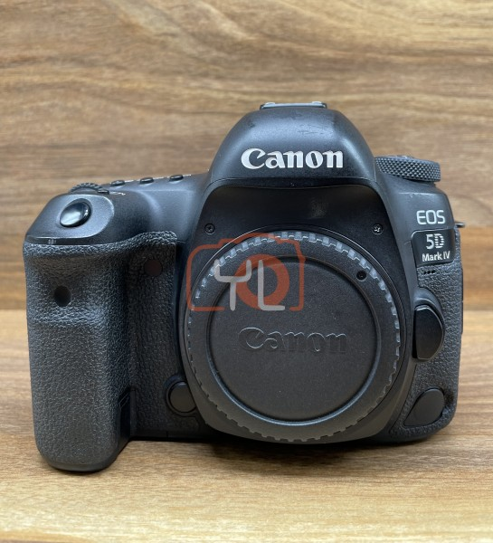 [USED @ YL LOW YAT]-Canon EOS 5D Mark IV Camera Body [ shutter count 188K ],80% Condition Like New,S/N:018021002550
