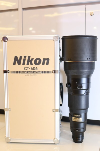 [USED-PUDU] NIKON 600MM F4 AFS D II ED 88%LIKE NEW CONDITION SN:300262