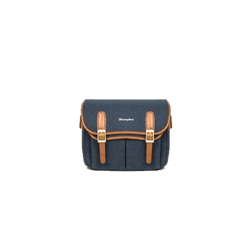 (SPECIAL DEAL) Herringbone Maniere Large Camera Bag (Navy)