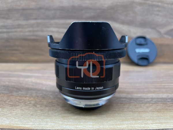 [USED @ YL LOW YAT]-Voigtlander 15MM F4.5 III Super Wide Heliar VM Mount Lens,75% Condition Like New,S/N:08541777