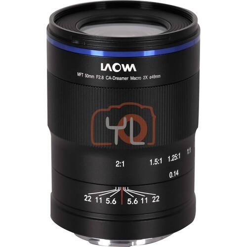 Laowa 50mm f/2.8 2X Ultra Macro APO Lens